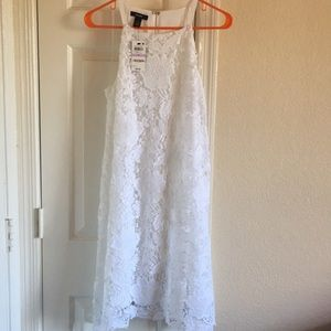 White lace dress, NWT